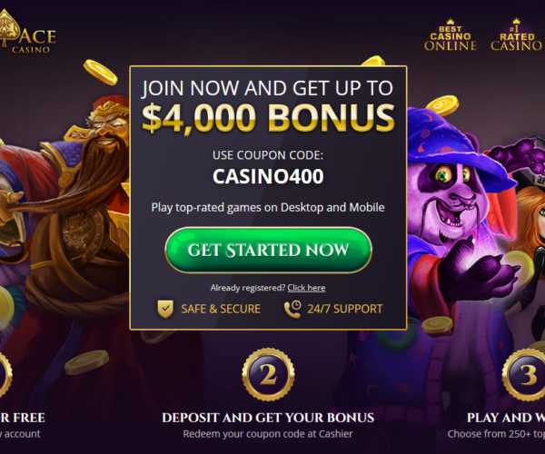 The marvellous casino match bonus offers: